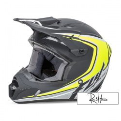 Helmet Fly Kinetic Full Speed Black/Hi-Viz