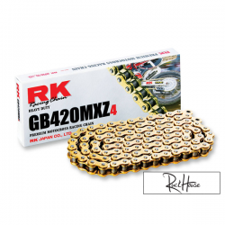 Chain RK MXZ 420 Special Racing Gold