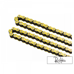 O-ring Chain Tag 420 Works Series Gold 134 Link
