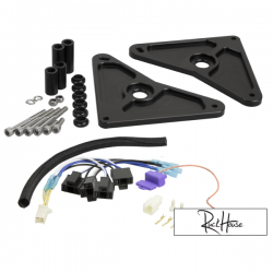 Ruckus Headlight Bracket For Honda Grom TRS Black