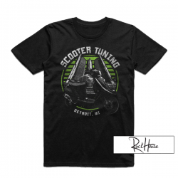 T-Shirt ScooterTuning Detroit