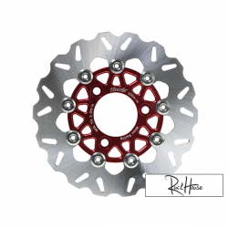 Brake Disc TWPO 220mm Red