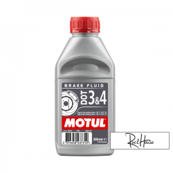 Brake Fluid Motul DOT 3-4 100% Synthetic (500ml)