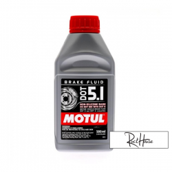 Brake Fluid Motul DOT 5.1 100% Synthetic (500ml)