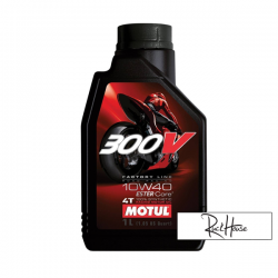 Motul 4T Oil 300V Factory Line Esther 15W50 100% Synthetic (1L)