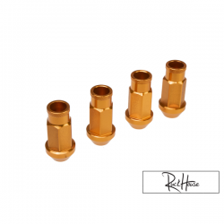 Lug Nuts Ruckhouse Orange