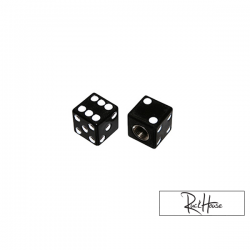 Valve caps Replay Dice Black