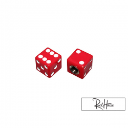 Valve caps Replay Dice Red