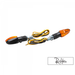 (2X) Indicators Replay Mini Arrow Orange / Black