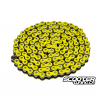 Chain Voca Racing 420 Reinforced 136 link Yellow