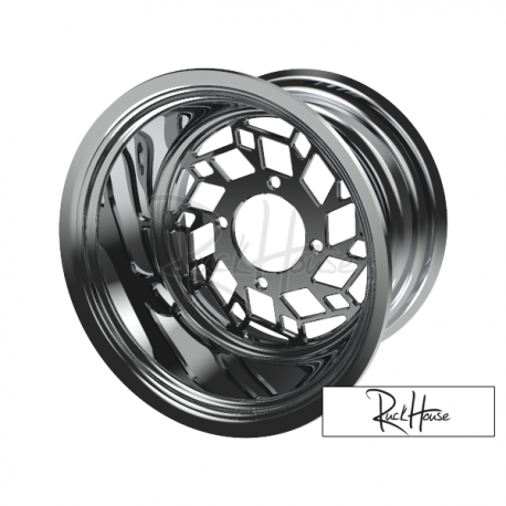 Rear Fatty Wheel SnowFlake 1pc 12x8 3+5 (4x110)