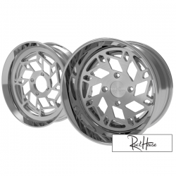 Wheel Set Ruckhouse Snow Flake V1 CNC 2-Piece (13x8-12x4)