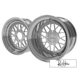 Wheel Set Ruckhouse Hate CNC 2-Piece (13x8-12x4)