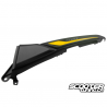 Rear Right Shroud Black with Yellow Decals (Honda Grom 2014-2016)