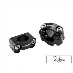 Handlebar clamp VOCA HB28 black (7/8 to 1-1/8'')