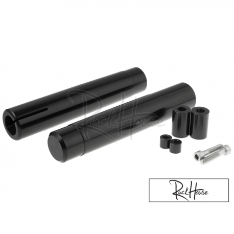 Ruckus Front Fork Adapters Ruckhouse Black (Grom)
