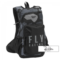 Backpack Fly Jump Grey / Black Camo V2