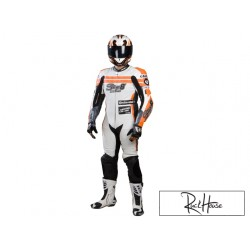 Leather suit Stage6 Racing MKII white