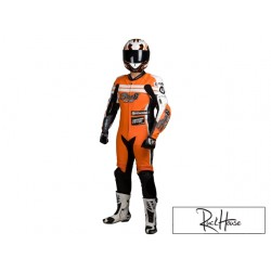 Leather suit Stage6 Racing MKII orange