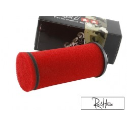 Racing air filter Stage6, long, red