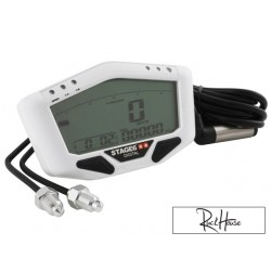 Speedometer Stage6 White