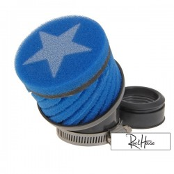 Airfilter Stage6 short Blue (48mm)
