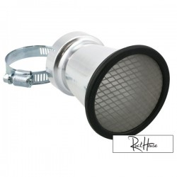 Bell mouth STR8, incl mesh insert, connection size 50mm