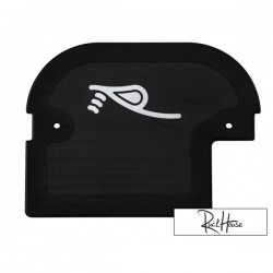Tail Plate Cover rPRO Black Honda Ruckus