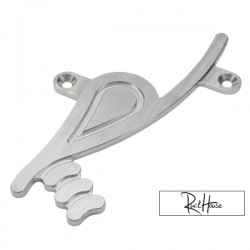 Billet Battery Box Logo Emblem rPRO Aluminium