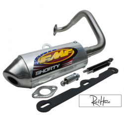 Exhaust FMF Shorty Stainless Fatty GY6 125-180cc