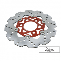 Brake Disc Adelin 220mm Orange