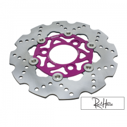 Brake Disc Adelin 220mm Purple