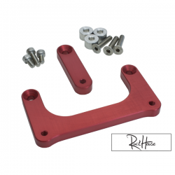Headlight Lowering kit TRS Bolt-On Red
