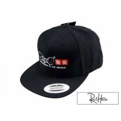 Baseball Cap Stage6 Snapback Black