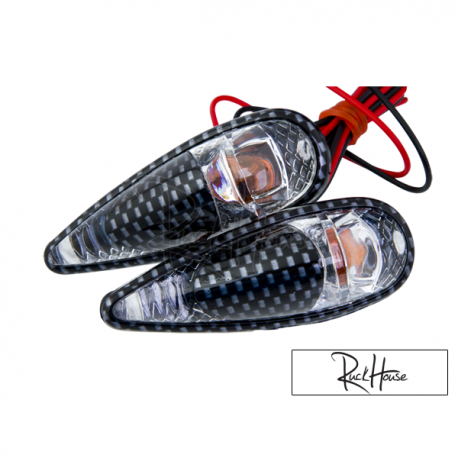 Indicator Light Tun'r Raindrop Double Carbon