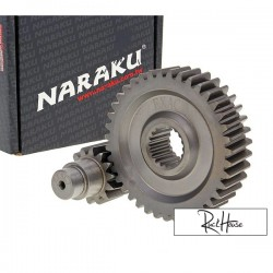 Secondary Gear kit Naraku 18/36 +35% for GY6 125-150cc