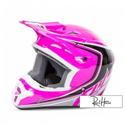 Helmet Fly Kinetic Full Speed Pink/Black/White