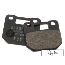 Brake Pad Stage6 4 piston Organic