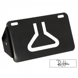 License Plate Mount MML Black