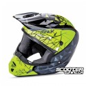 Helmet Fly Kinetic Crux Black/Grey/Hi-Vis