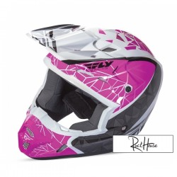 Helmet Fly Kinetic Crux Pink/Black/White