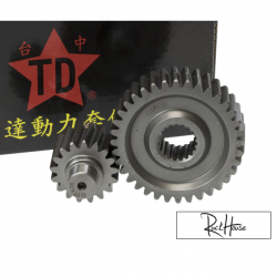 Secondary Gear Kit Taida 17/36 +31% for GY6 125-150cc