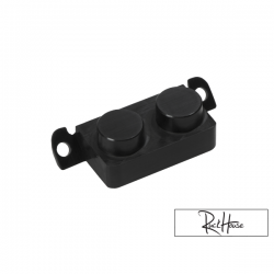 Battery Cover Light Block off TRS Black Honda Ruckus