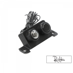 Battery Cover Light Button TRS Black