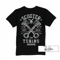 T-Shirt ScooterTuning X Black