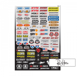 Sticker kit FX Micro Sponsor