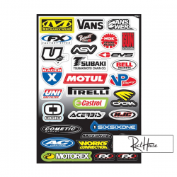 Sticker kit FX Sponsor (C)