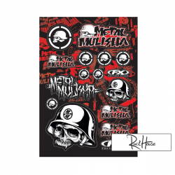 Sticker kit FX Metal Mulisha (A)