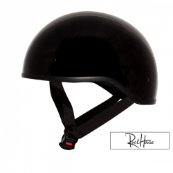 Helmet ZOX Mikro ''Old School'' (Solid) Black