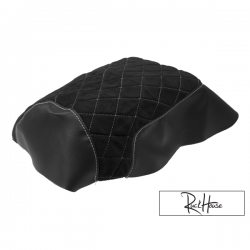 Seat Cover TRS (Diamond) Black Honda Ruckus